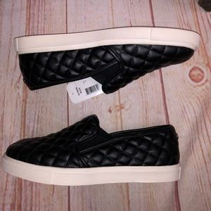 R2 quilted Diaz leather slide on shoes
